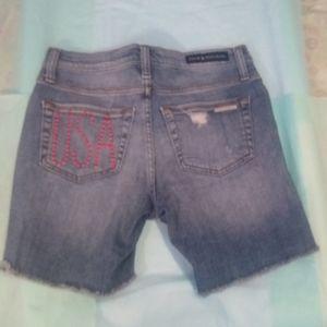 NWOT Rock & Republic USA Shorts - Size 2